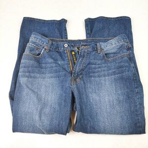 Lucky Brand 181 Relaxed Straight Blue Jeans